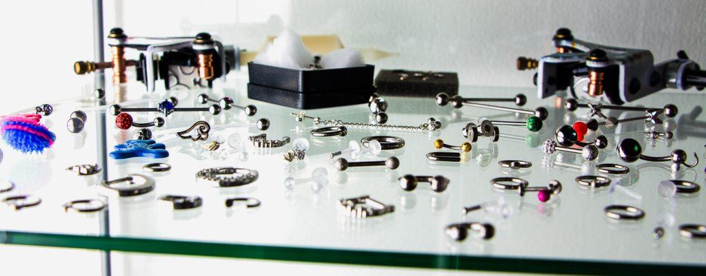 Eine Auswahl unserer Piercings
