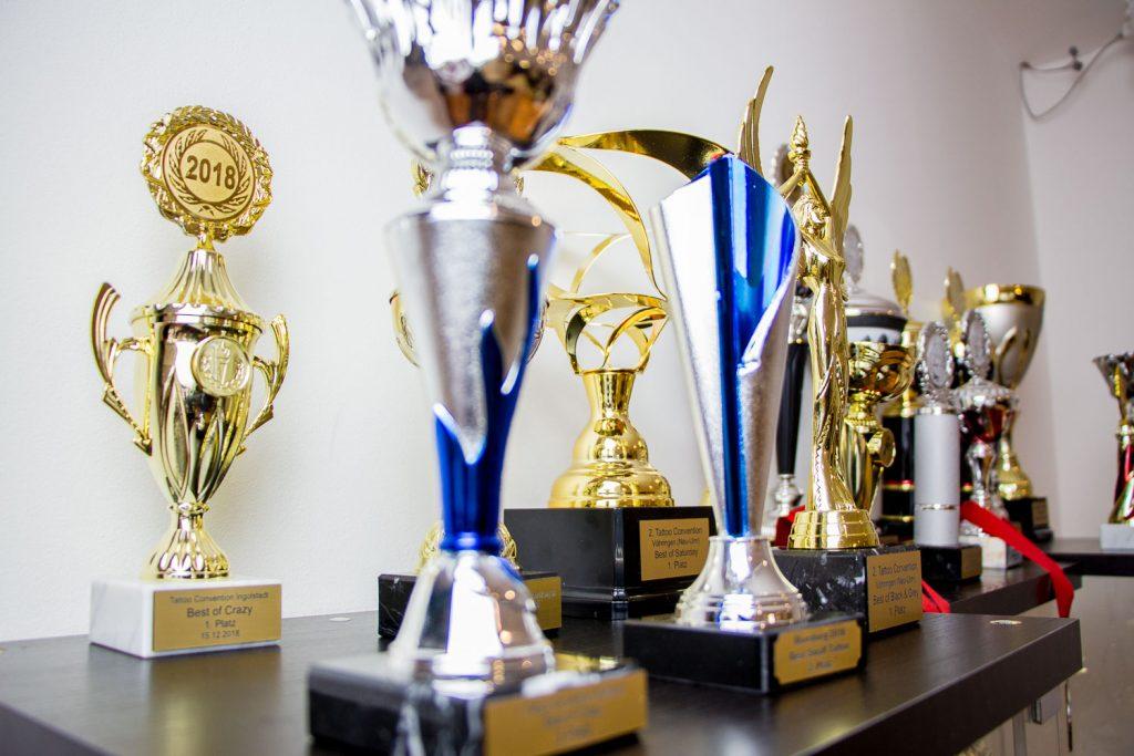 Wir sind stolz auf unsere Auszeichnungen!